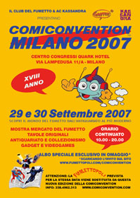 Comiconvention Milan 2007